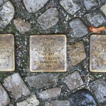 Stolpersteine Berlin 179: In memory of Sofie von der Wall, Julius von der Wall and Therese von der Wall (Keithstrasse 14)