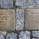 Stolpersteine Berlin 183 (1): In memory of Anna Goldstrom and Clara Arnheim (Uhlandstrasse 181 – 183)