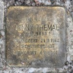 Stolpersteine Berlin 184 (3): In memory of Jenny Themal (Mommsenstrasse 45)