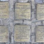 Stolpersteine Berlin 187 (2): In memory of Martha Kiwi, Regina Warszawski, Fanny Elkan, Josef Gross, Margarete Gross and Rudolf Kirchheim (Wielandstrasse 30)