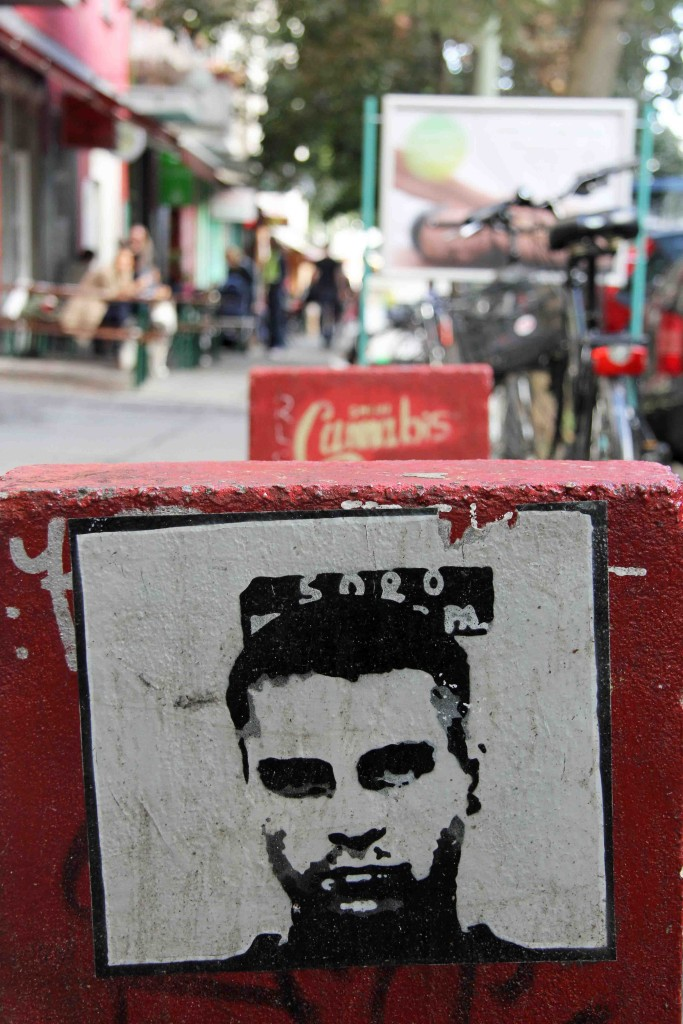 Mug Shot - Street Art by Unknown Artist in Berlin
