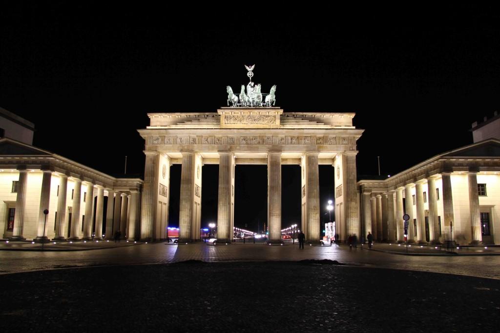 Brandenburger Tor - Brandenburg Gate at Night