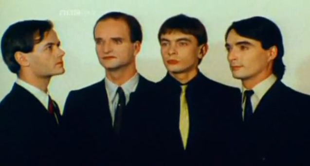 Kraftwerk (screenshot from Krautrock - The Rebirth of Germany)