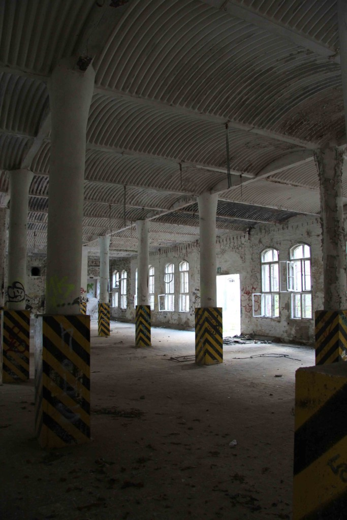 Loading Bay at Rewatex Berlin - an abandoned industrial laundry and dyeing factory