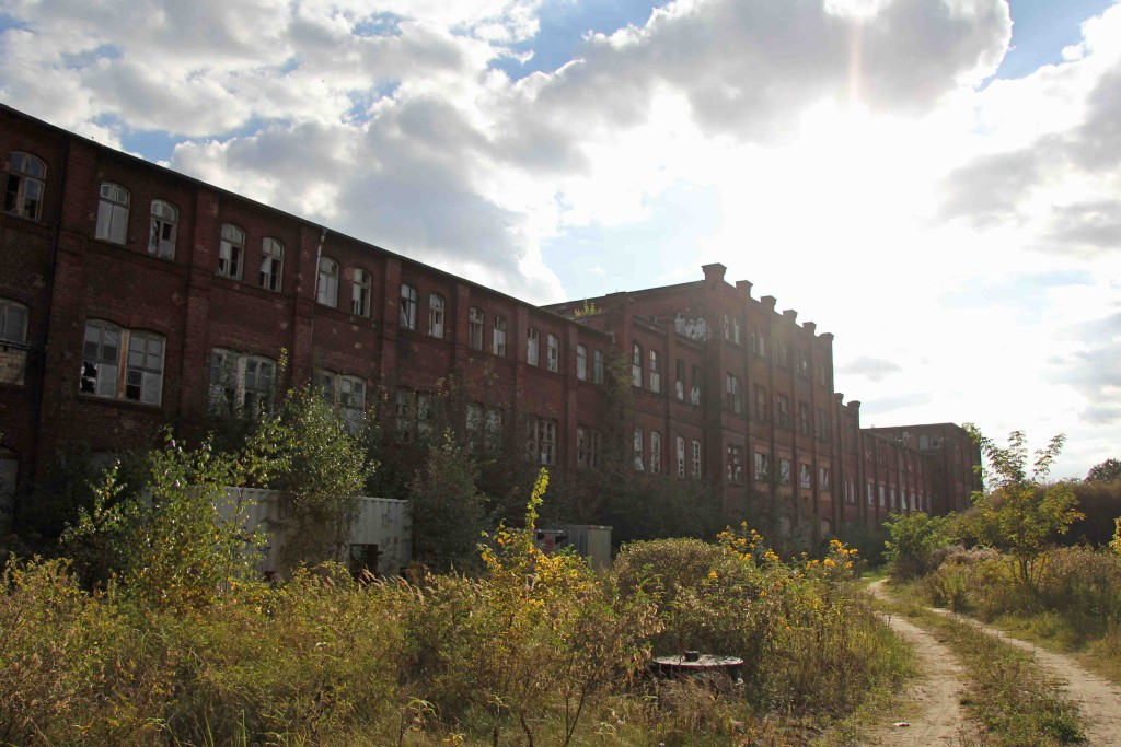 Rewatex Berlin - an abandoned industrial laundry and dyeing factory