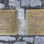 Stolpersteine Berlin 189 (2): In memory of Erwin Nellhaus and Marie Lion (Schlüterstrasse 54)