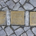Stolpersteine Berlin 189 (5): In memory of Paul Rathe, Otto Rathe and Gertrud Friedlaender (Schlüterstrasse 54)