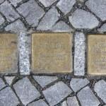 Stolpersteine Berlin 189 (5): In memory of Paul Rathe, Otto Rathe and Gertrud Friedlaender (Schlüterstrasse 54)