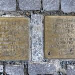 Stolpersteine Berlin 189 (7): In memory of Alice Schlesinger and Hedi Leonie Schlesinger (Schlüterstrasse 54)