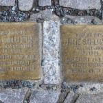 Stolpersteine Berlin 189 (8): In memory of Ida Wollheim and Julie Sahlmann (Schlüterstrasse 54)