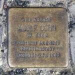 Stolpersteine Berlin 190 (1): In memory of Adolf Cohn (Schlüterstrasse 53)