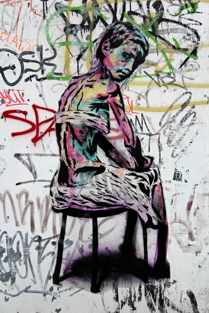 Muse - Street Art by Unknown Artist in Berlin