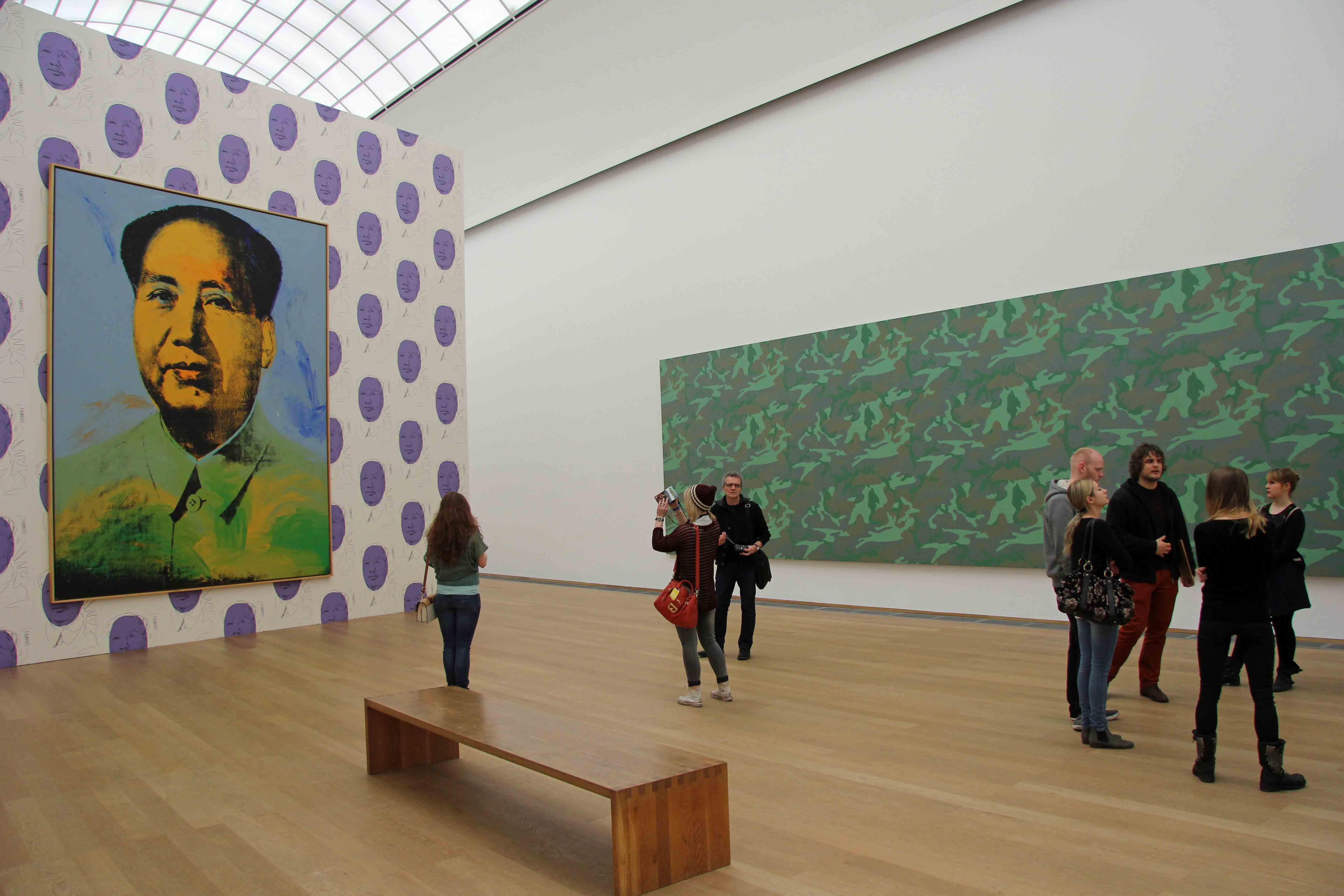 Andy Warhol - Mao - at Hamburger Bahnhof - Museum für Gegenwart