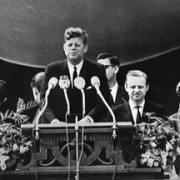 Famous Berliners: President John F Kennedy (JFK)