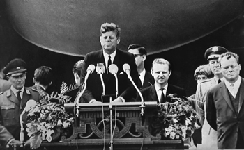 John F Kennedy (JFK) Ich Bin Ein Berliner (Associated Press)