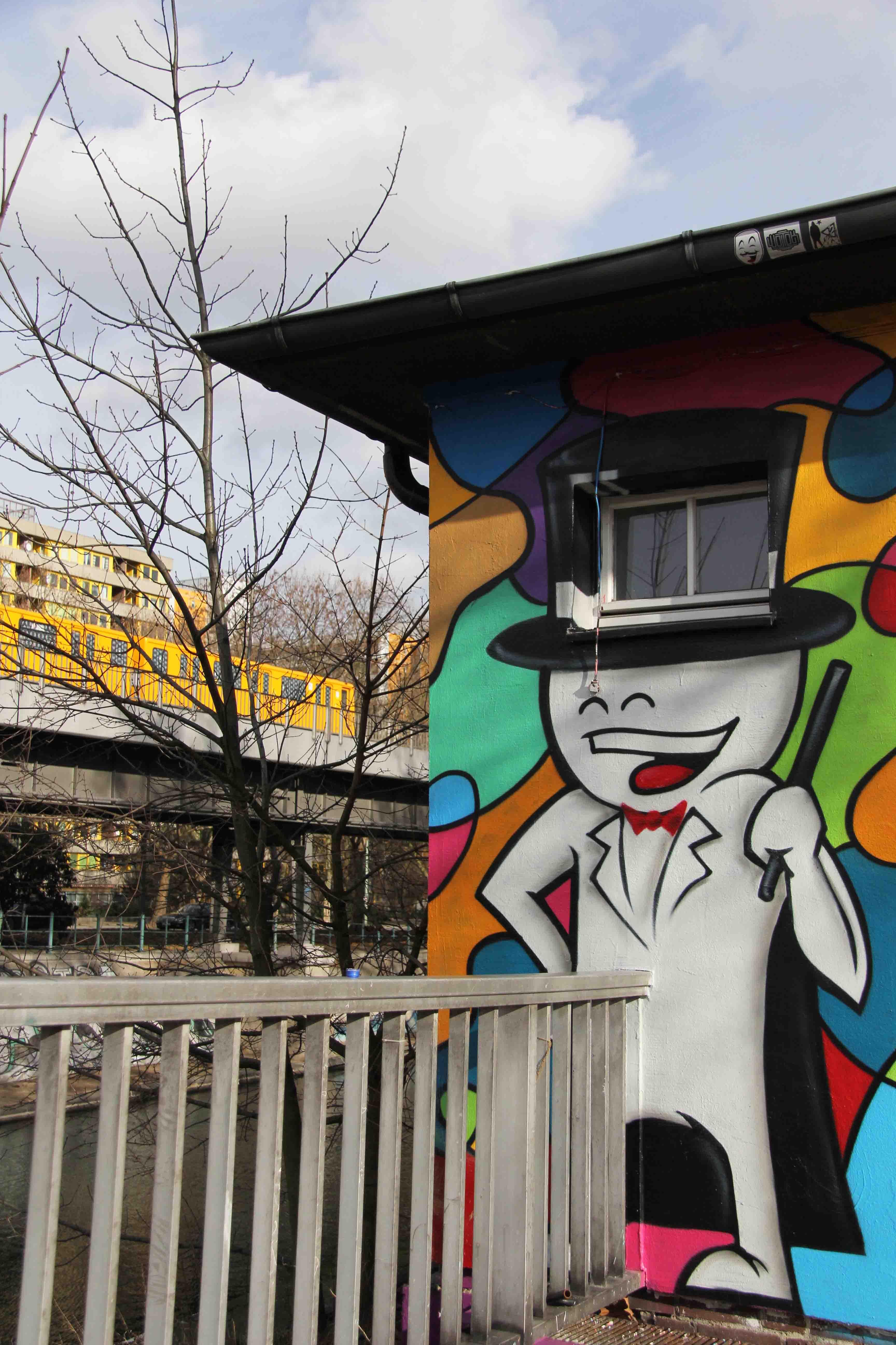 Prostie as Magician - Street Art by Mein Lieber Prost in Berlin