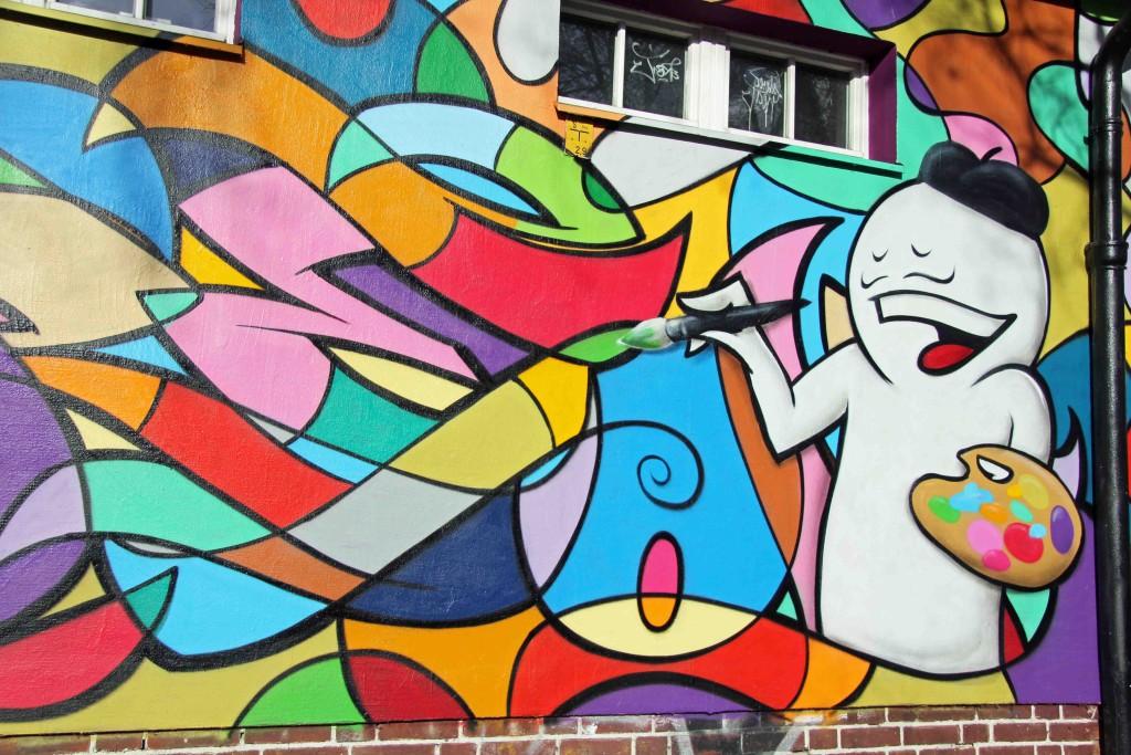 Prostie as Picasso - Street Art by Mein Lieber Prost in Berlin