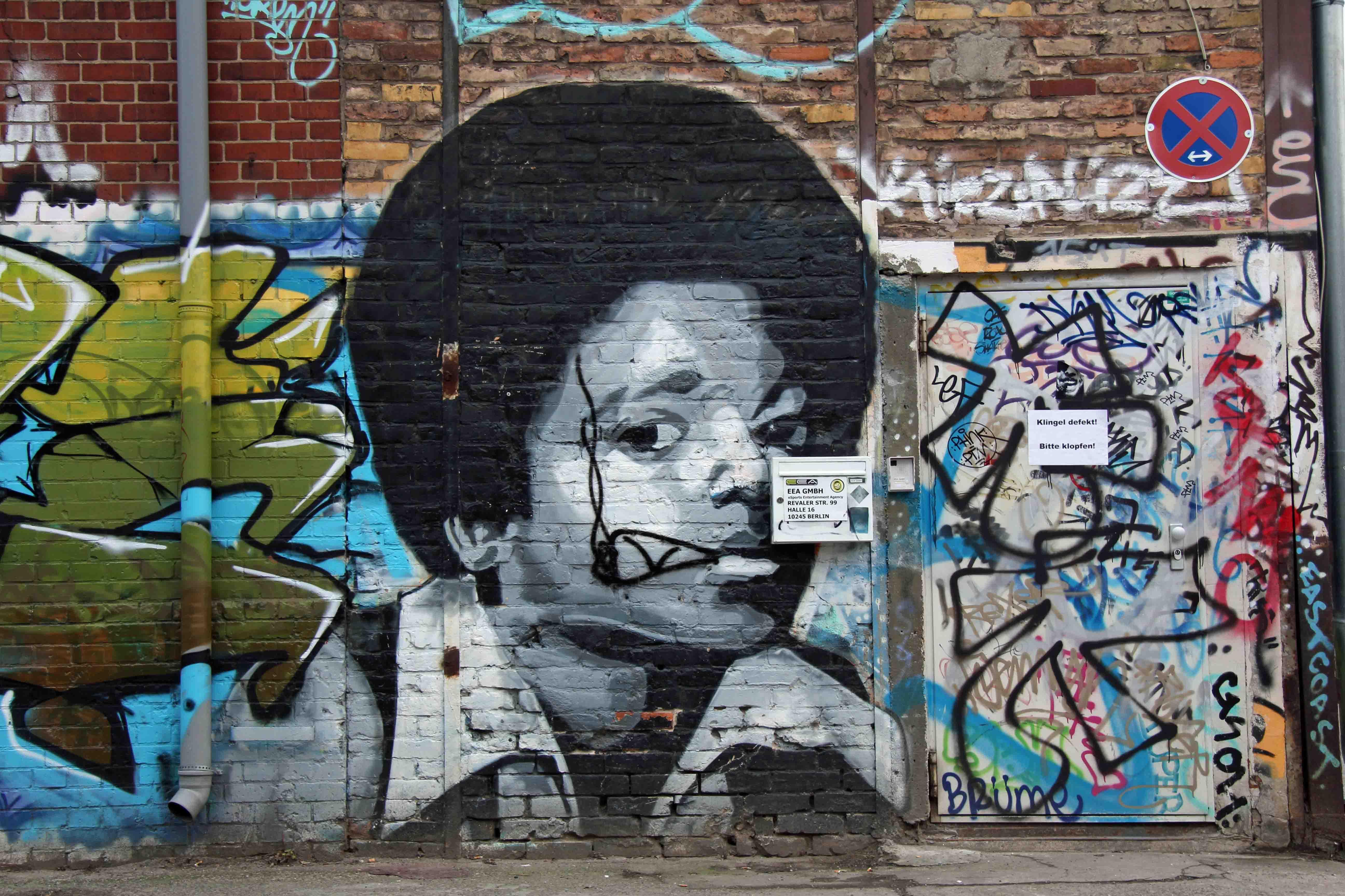 Michael Jackson - Street Art by MTO in Berlin