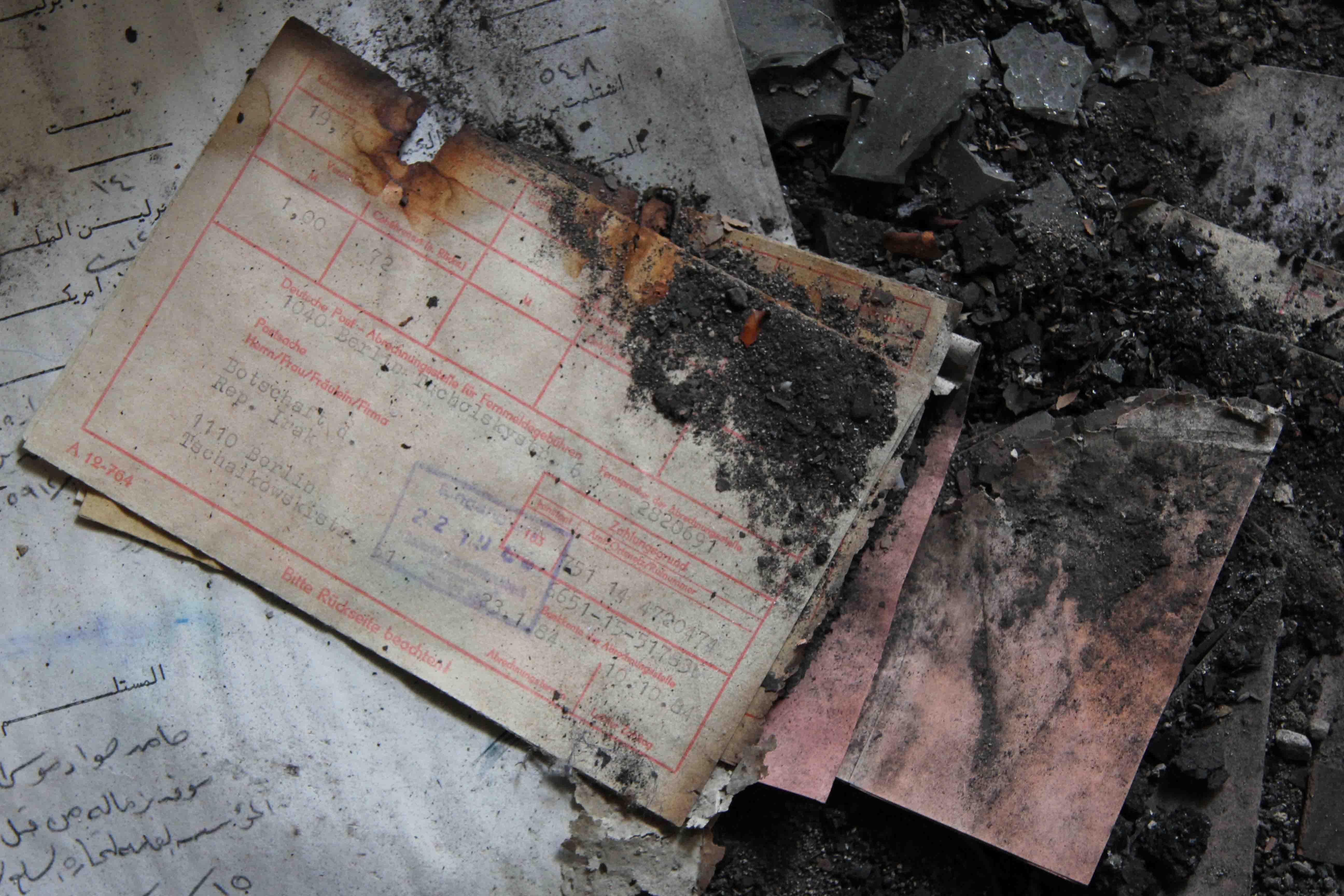 Paperwork - Abandoned Iraqi Embassy Berlin - Die Verlassene Irakische Botschaft