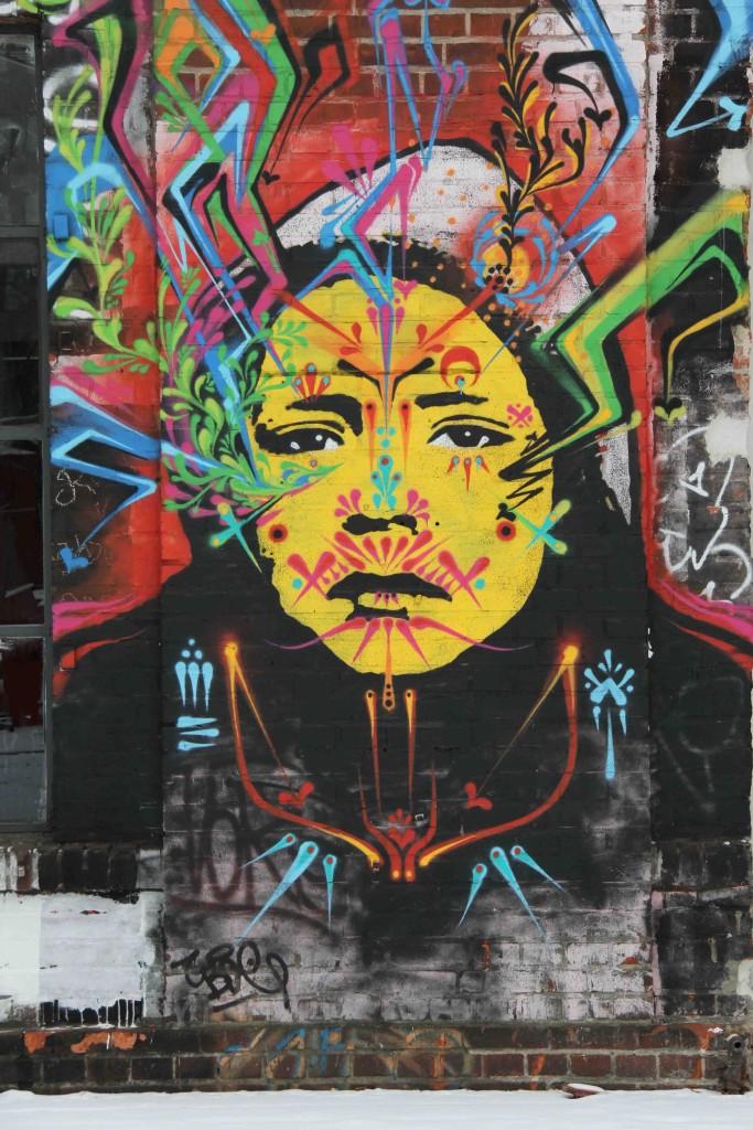 Bright Eyes at Urban Spree - Street Art by Stinkfish in Berlin
