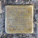 Stolpersteine Berlin 193: In memory of Klara Jacob (Silbersteinstrasse 97)