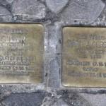 Stolpersteine Berlin 194: In memory of Eliser Ehrenreich and Martha Gerson (Mommsenstrasse 69)