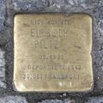 Stolpersteine Berlin 196: In memory of Elsbeth Piltz (Kottbusser Damm 5)