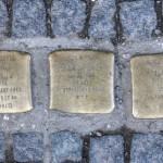 Stolpersteine Berlin 197: In memory of Arthur Rosenow, Jenny Bukofzer and Isidor Bukofzer (Graefestrasse 3)