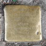 Stolpersteine Berlin 198: In memory of Heinrich Thieslauk (Warschauer Strasse 60)