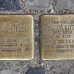 Stolpersteine Berlin 200: In memory of Hans Litten and Martha Litten (Grünberger Strasse 43-45)
