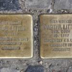 Stolpersteine Berlin 200: In memory of Hans Litten and Martha Litten (Grünberger Strasse 43-45)