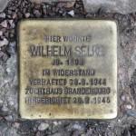 Stolpersteine Berlin 201: In memory of Wilhelm Selke (Ritterstrasse 109)
