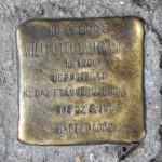 Stolpersteine Berlin 202: In memory of Willi Otto Büttner (Reichenberger Strasse 184)