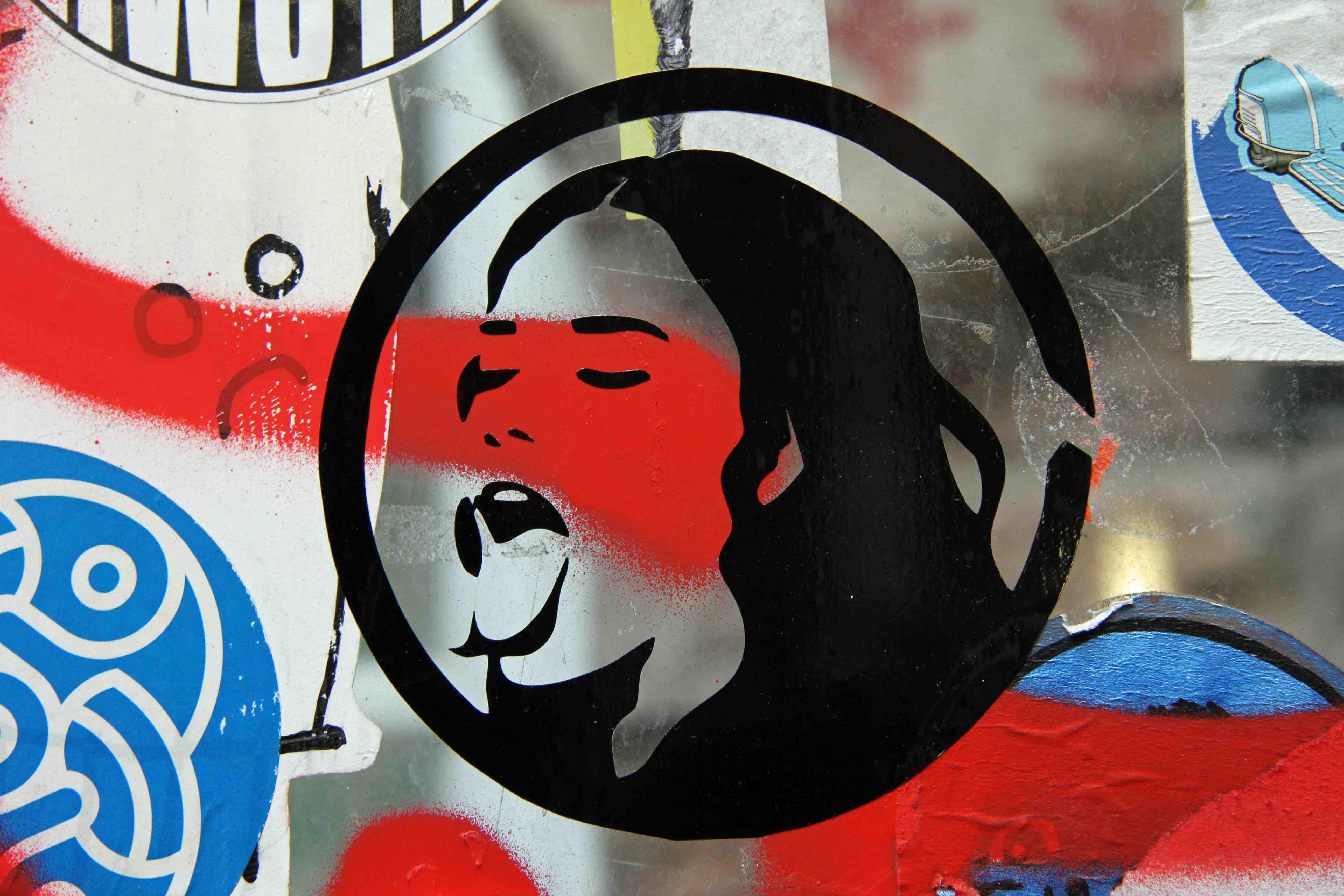 Aaaargh - Street Art by Unknown Artist in Berlin