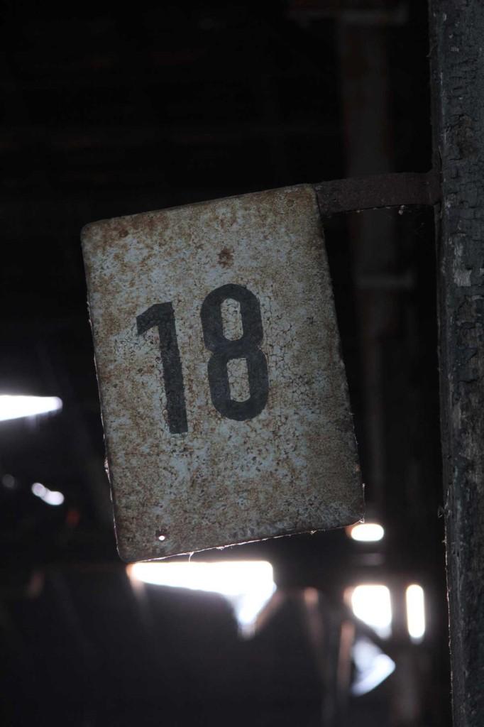 18 at Bahnbetriebswerk Pankow-Heinersdorf in Berlin