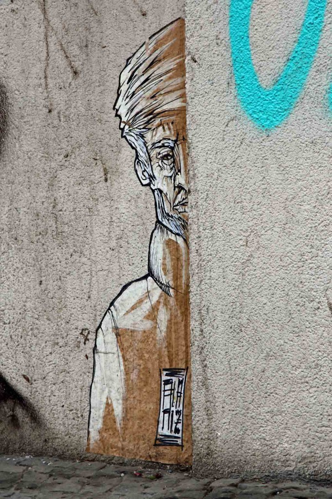 In Hiding - Street Art by ALANIZ in Berlin