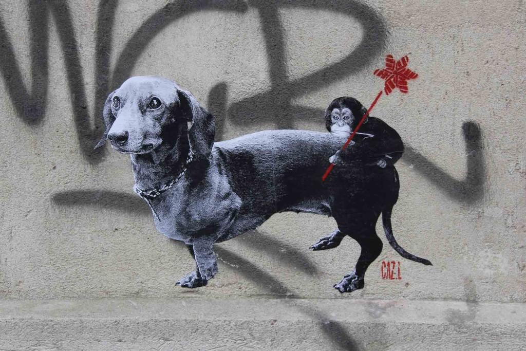 Ride Into The Sun - Street Art by CAZ.L in Berlin