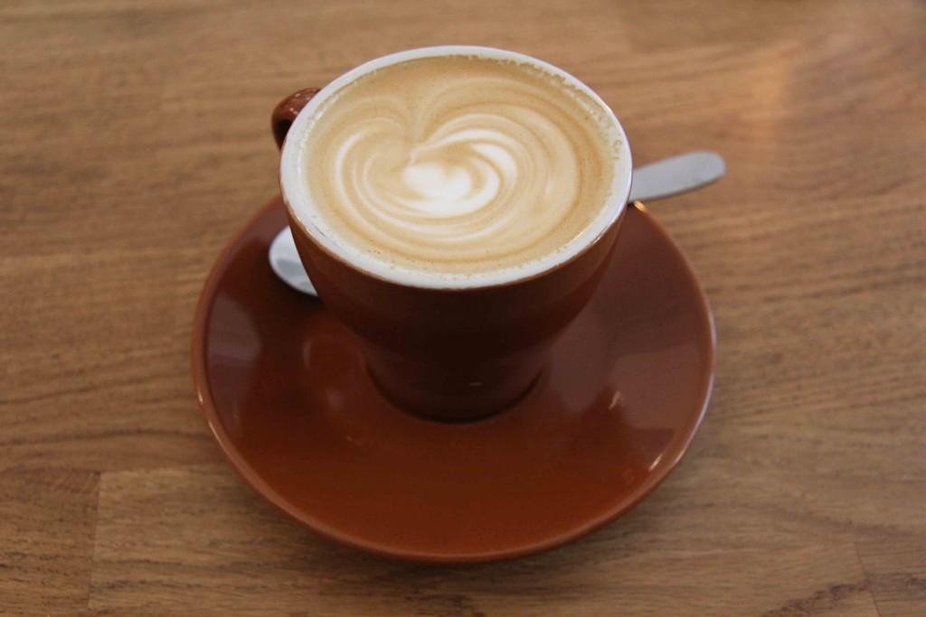 Cappuccino at Five Elephant Berlin