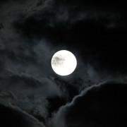 Snapshot: Full Moon Over Berlin