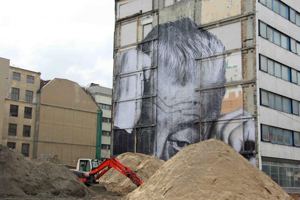 JR - Wrinkles of the City Berlin 10