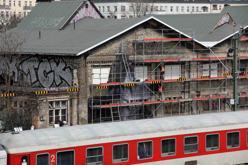 JR - Wrinkles of the City Berlin 2