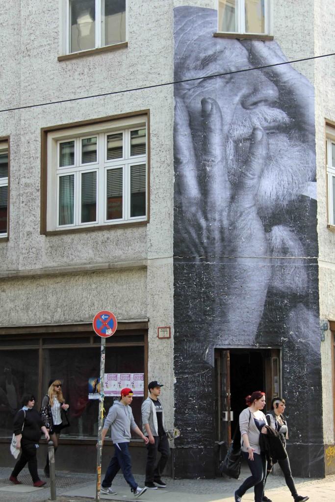 JR - Wrinkles of the City Berlin 4