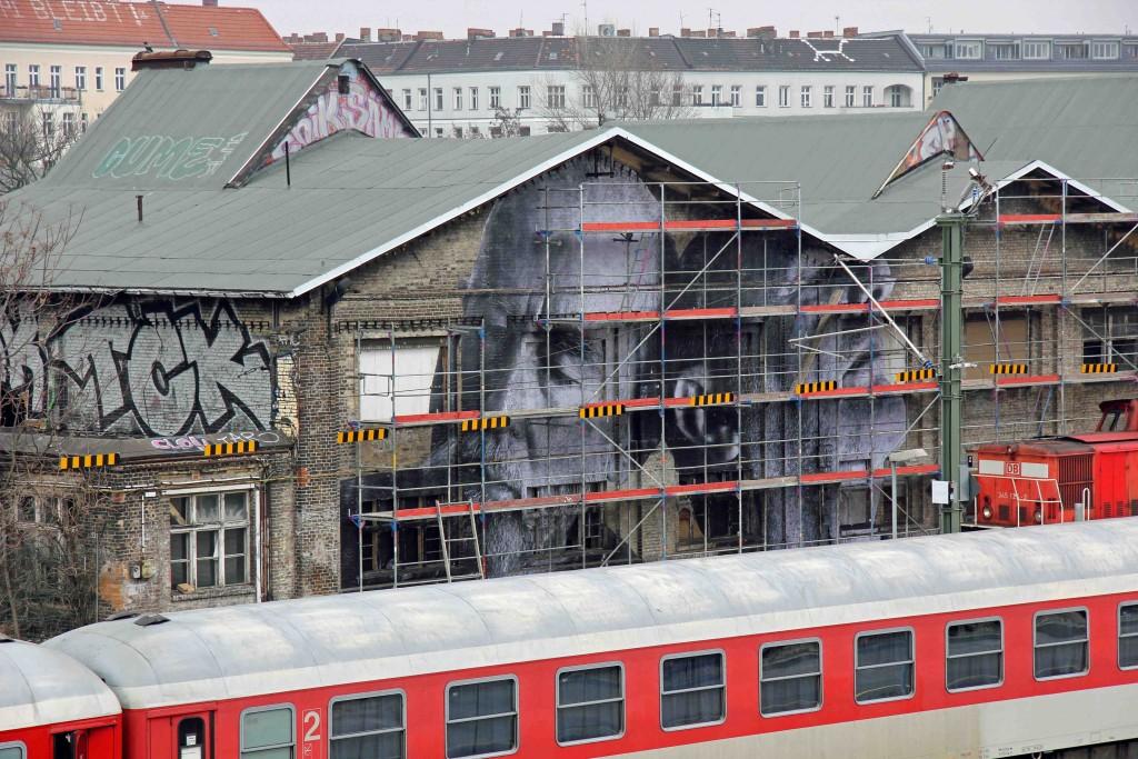 JR - Wrinkles of the City Berlin 9
