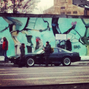 KITT at East Side Gallery Berlin