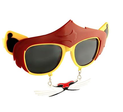 Lion Sunglasses - Furry Shades by Novelty Sunglasses