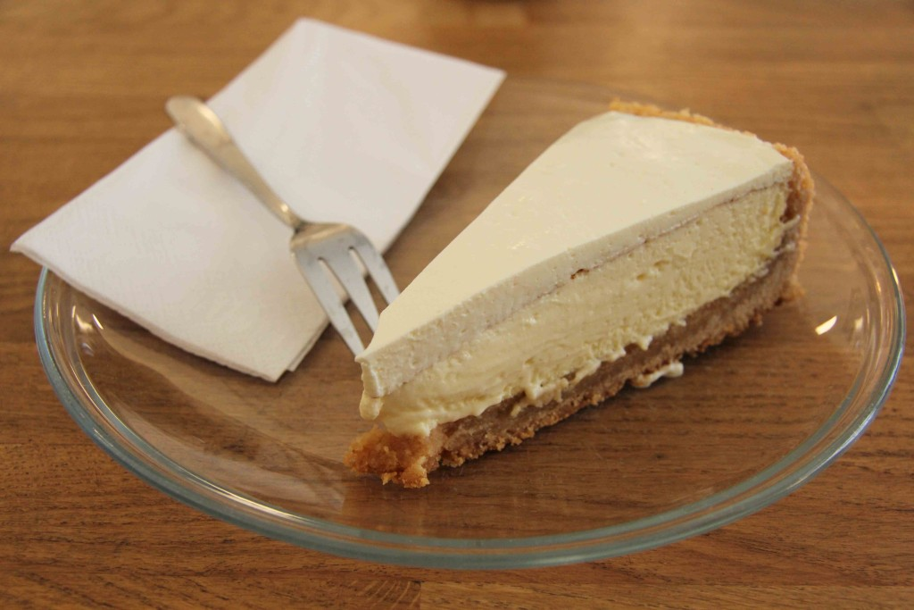 New York Cheesecake at Five Elephant Berlin