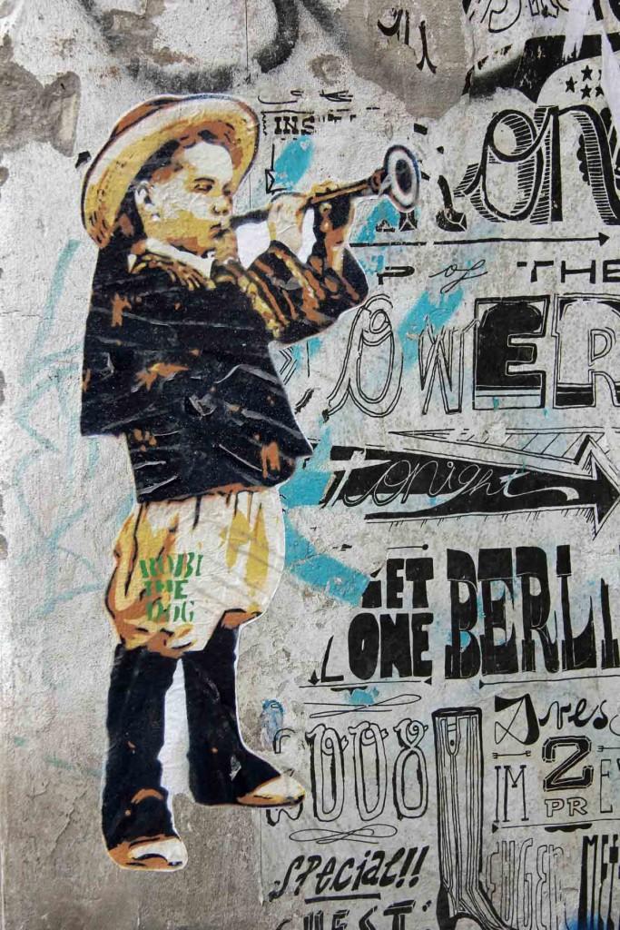 Mariachi Boy - Street Art by Robi The Dog in Berlin