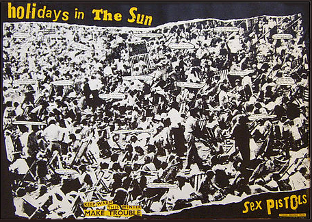 Sex Pistols - Holidays in the Sun (official promotional poster)