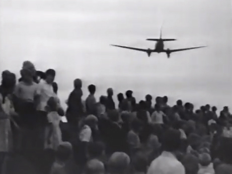 The Berlin Airlift (screenshot from the documentary Cold War - Berlin 1948-1949)