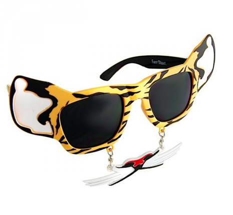Tiger Sunglasses - Furry Shades by Novelty Sunglasses